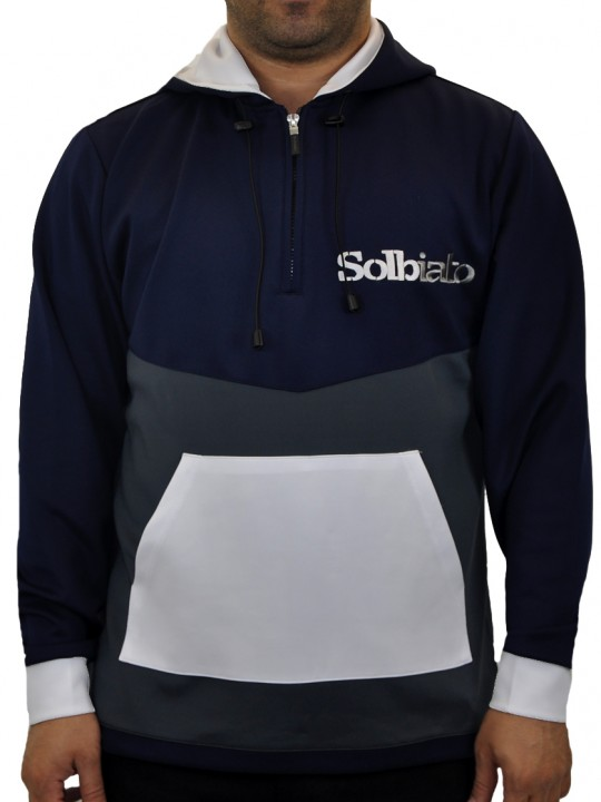 SOLBIATO_SILVER_FW18_TOP_SL-UNITED_NAVY_FRONT