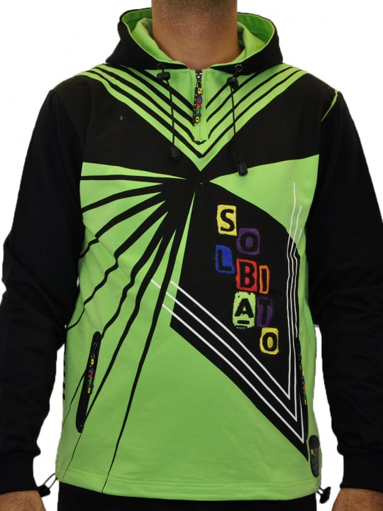 SOLBIATO_SPORT_FW18_TOPS_CHANG_LIME_FRONT